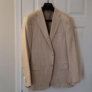 Men's 100% silk Hickey Freeman blazer size 40